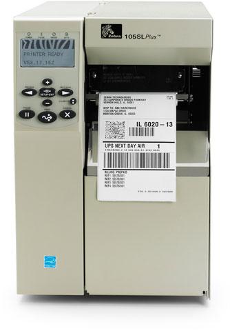 Zebra 105SL Plus Printer Barcode Printer - Retail