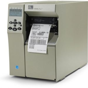 Zebra 105SL Plus Printer Barcode Printer